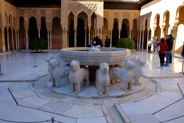 Alhambra-innergård