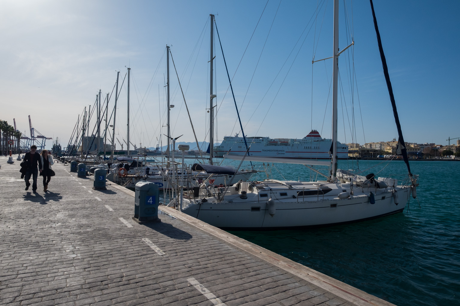 Malaga-hamnen
