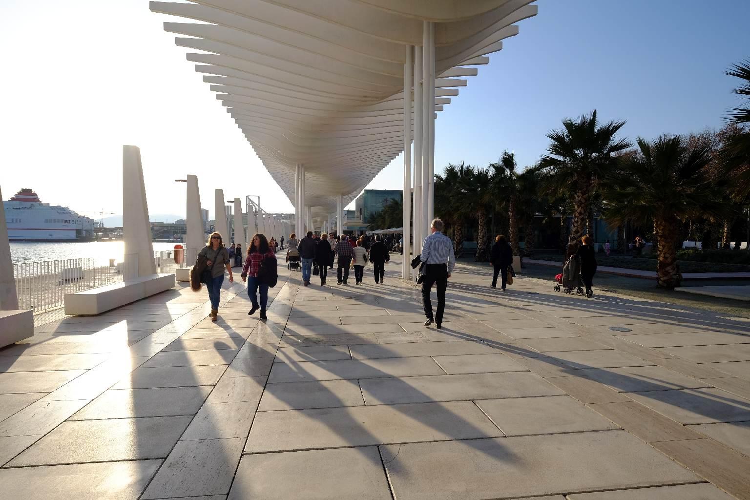 Malaga-promenaden