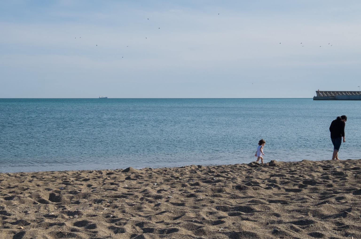 Malaga-stranden