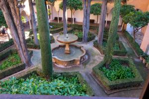 Alhambra-trädgård