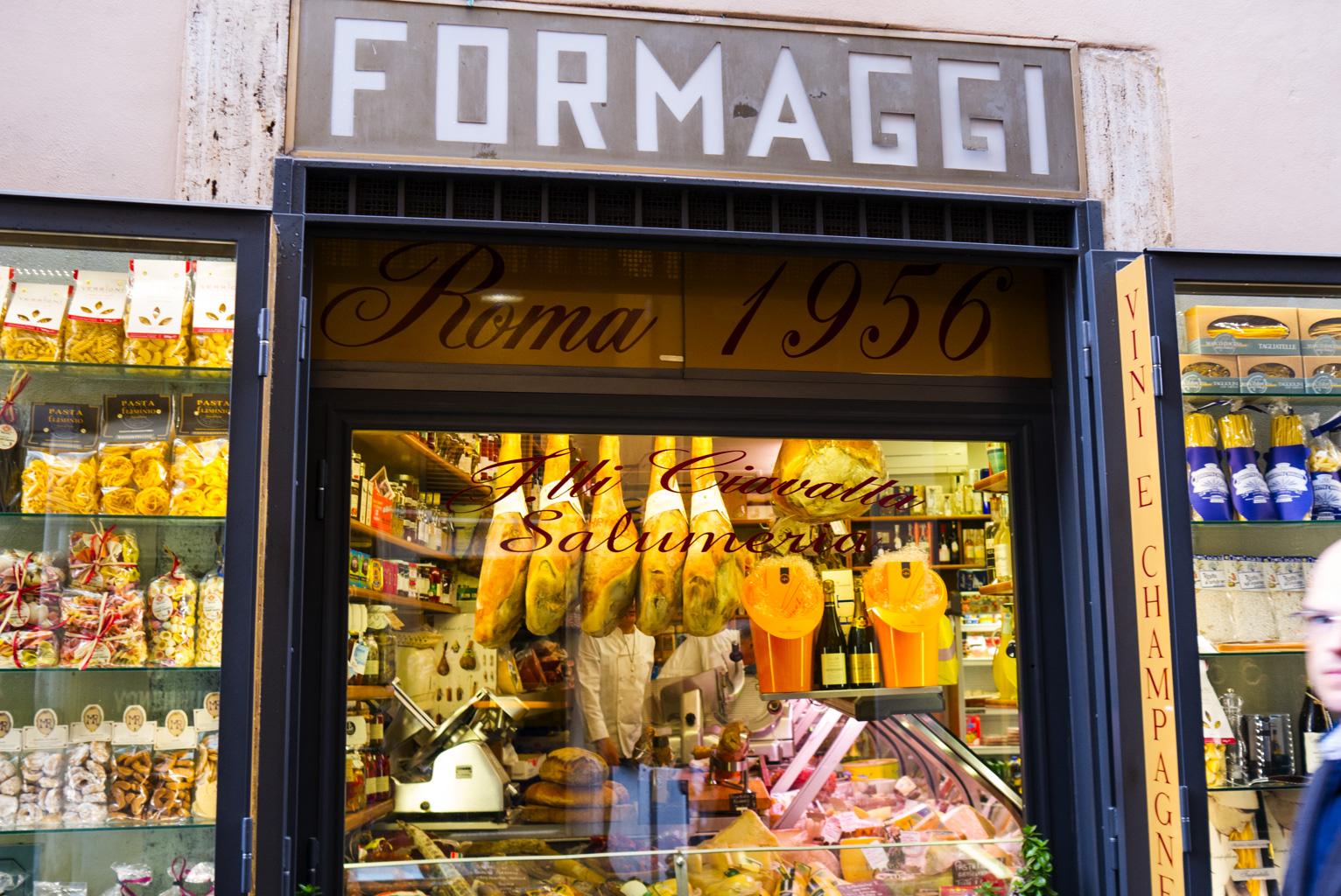 Gott med ost...Rom