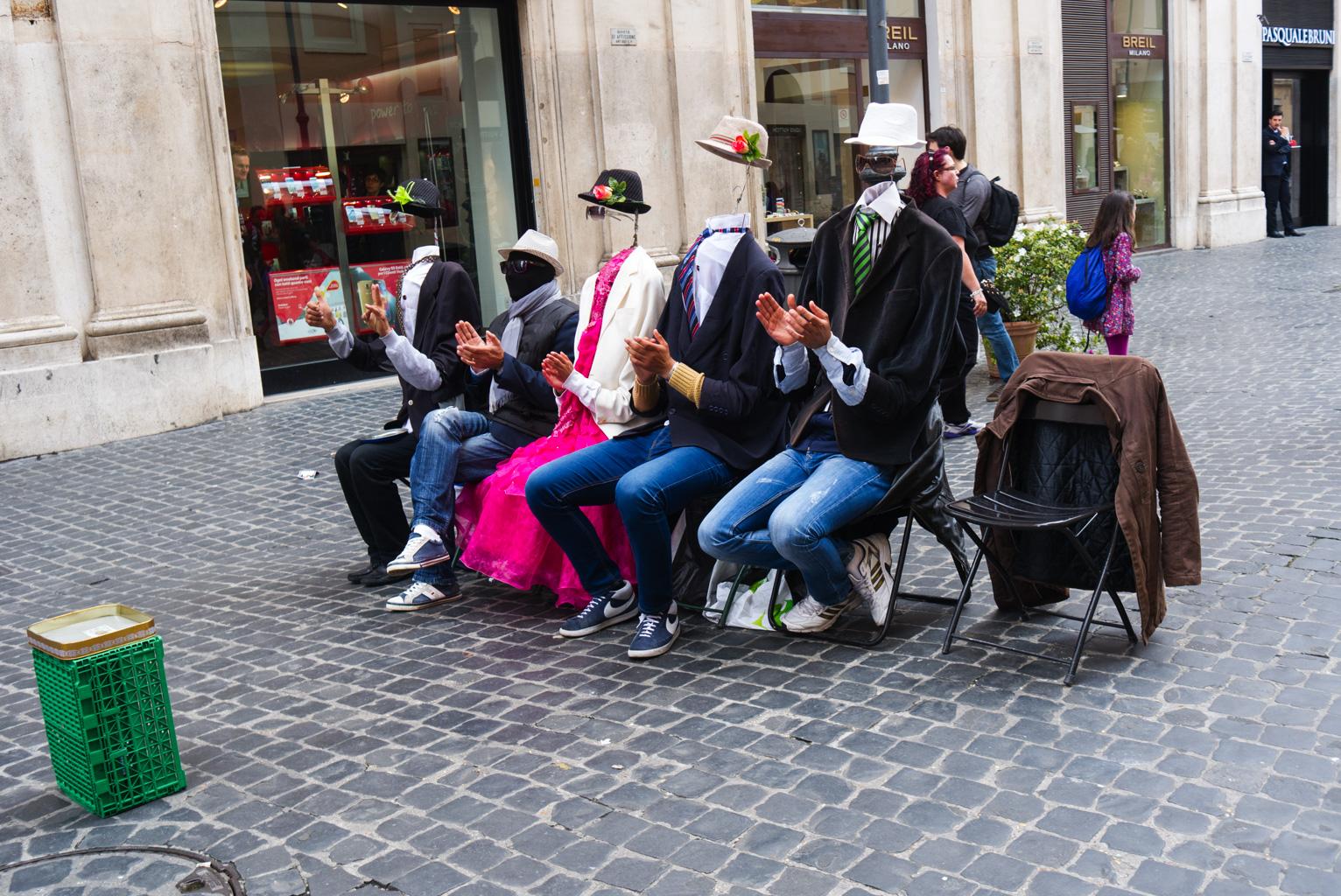 Uppträdande Rom