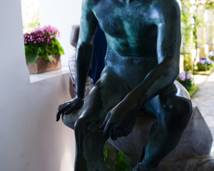 Skulptur San Michele Capri
