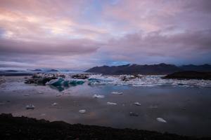 Icebergs-Breidamerkurjökull